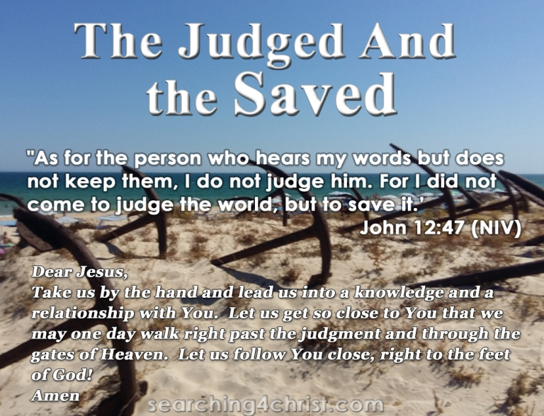 The Judged And The Saved
