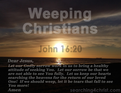Weeping Christians
