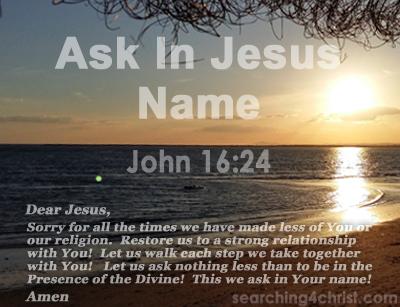 Ask In Jesus´ Name