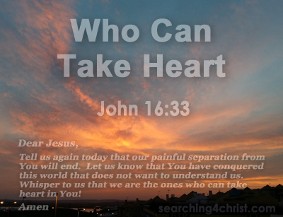 Who Can Take Heart