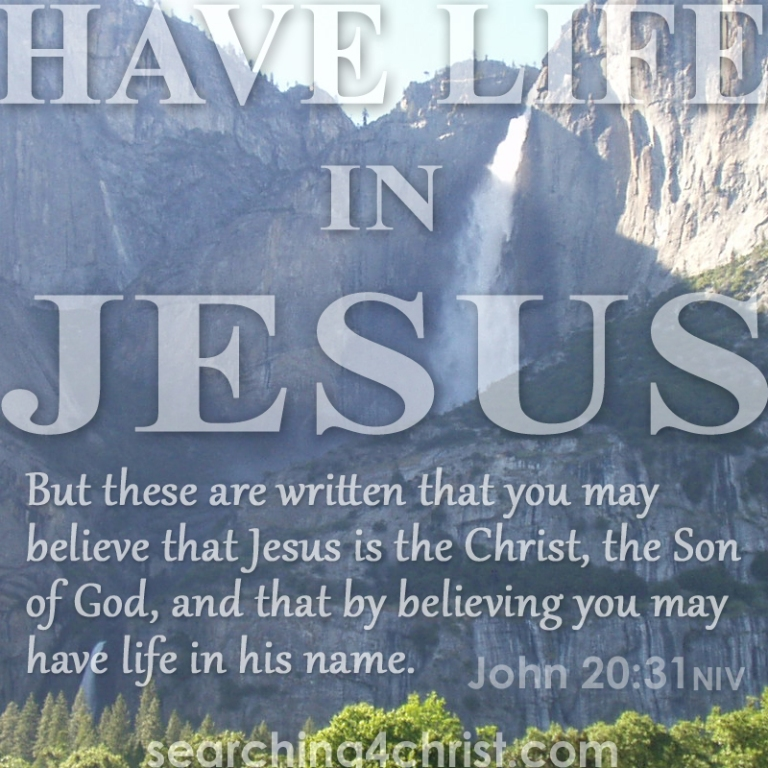 Have Life In Jesus