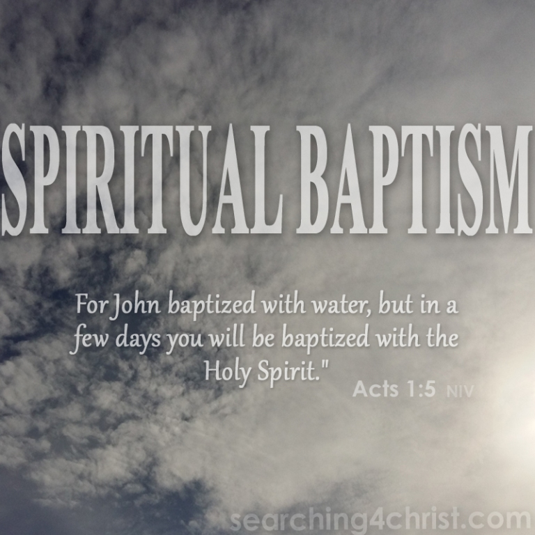 Spiritual Baptism