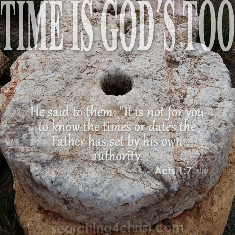 Time Is God´s Too