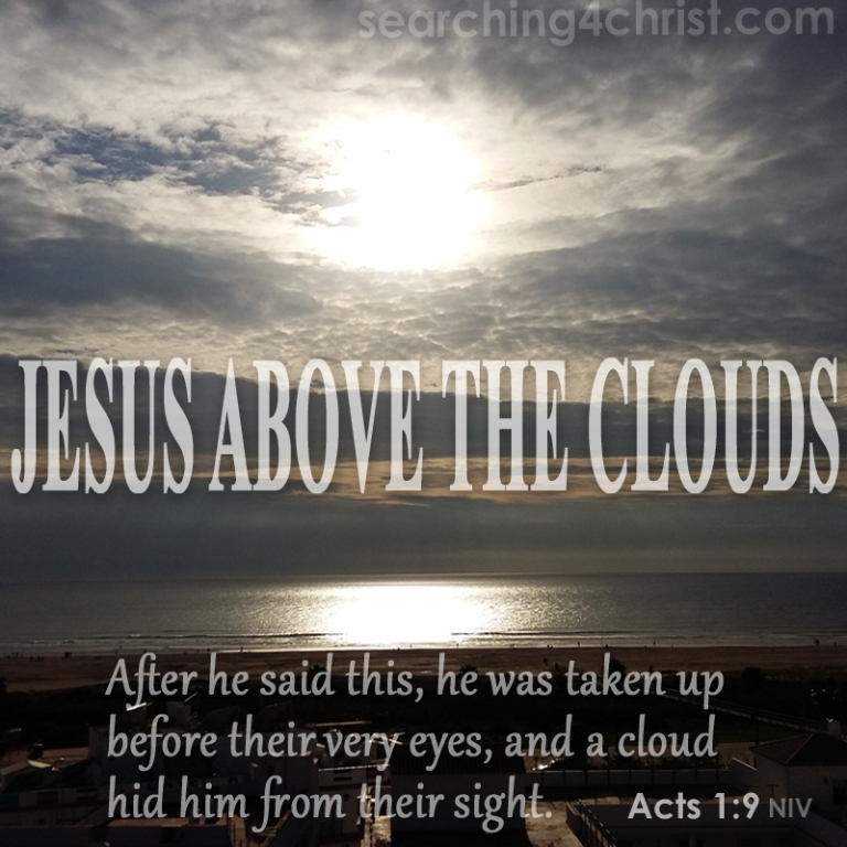 Jesus Above The Clouds