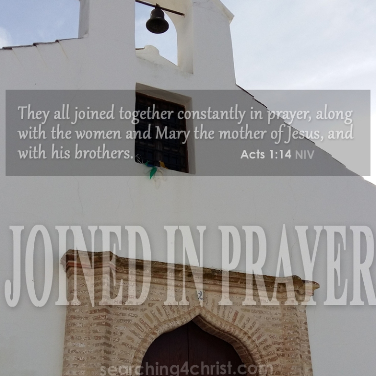 Joined In Prayer