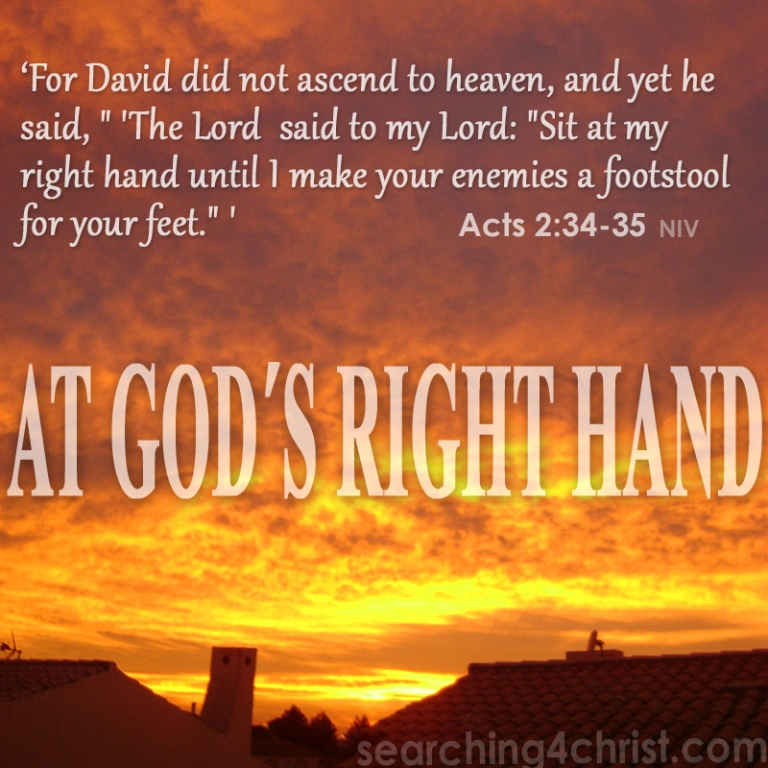 At God´s Right Hand