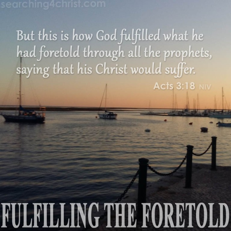 Fulfilling The Foretold