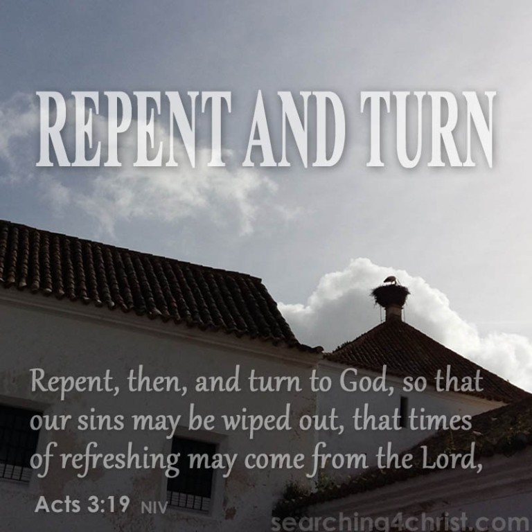 Repent And Turn