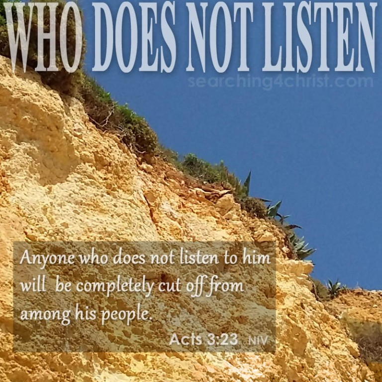 Who Does Not Listen