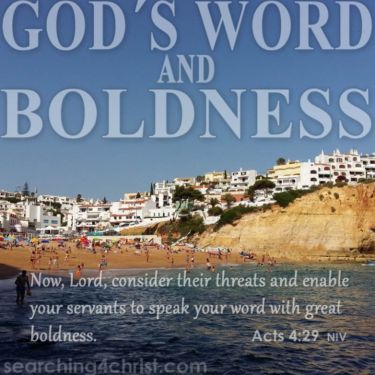 God´s Word And Boldness