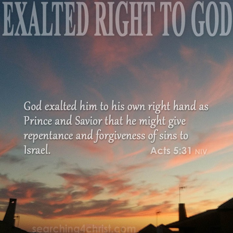 exalted-right-to-god