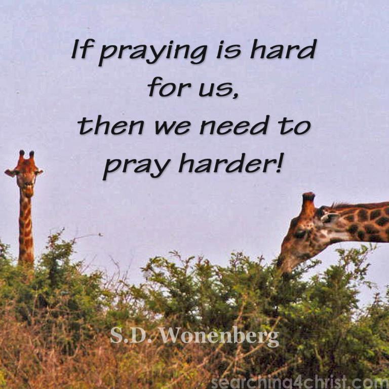 If-praying-is-hard