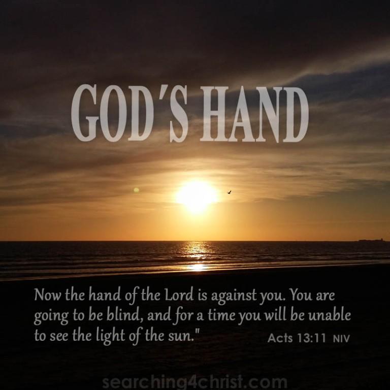 God´s-hand