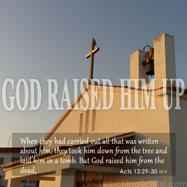 God-raised-Him-up