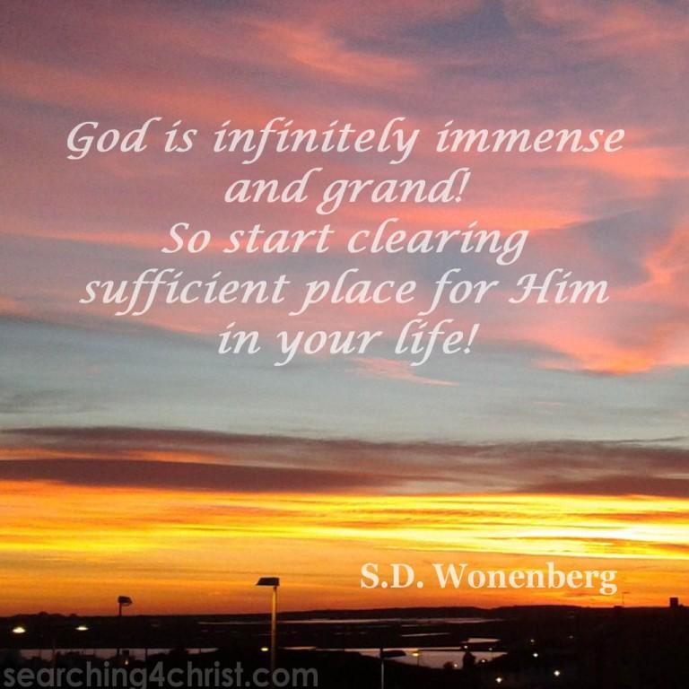 God-is-immense