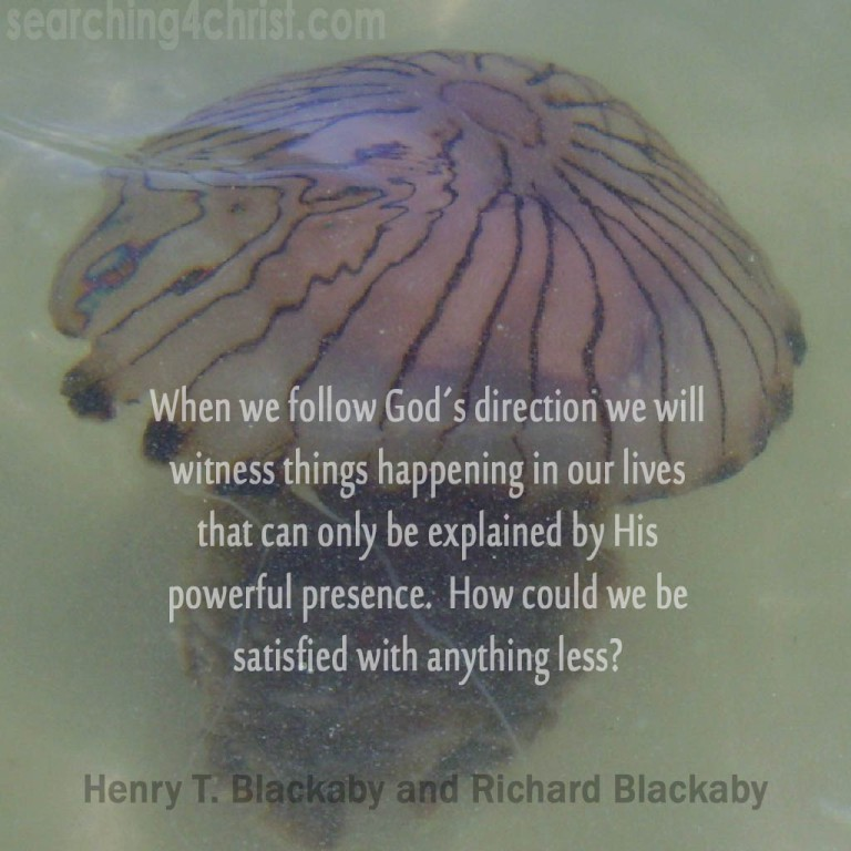 When we follow God