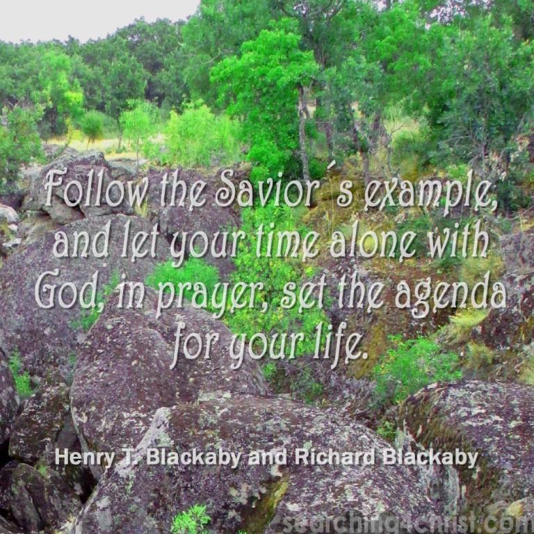 Follow the Savior´s Example