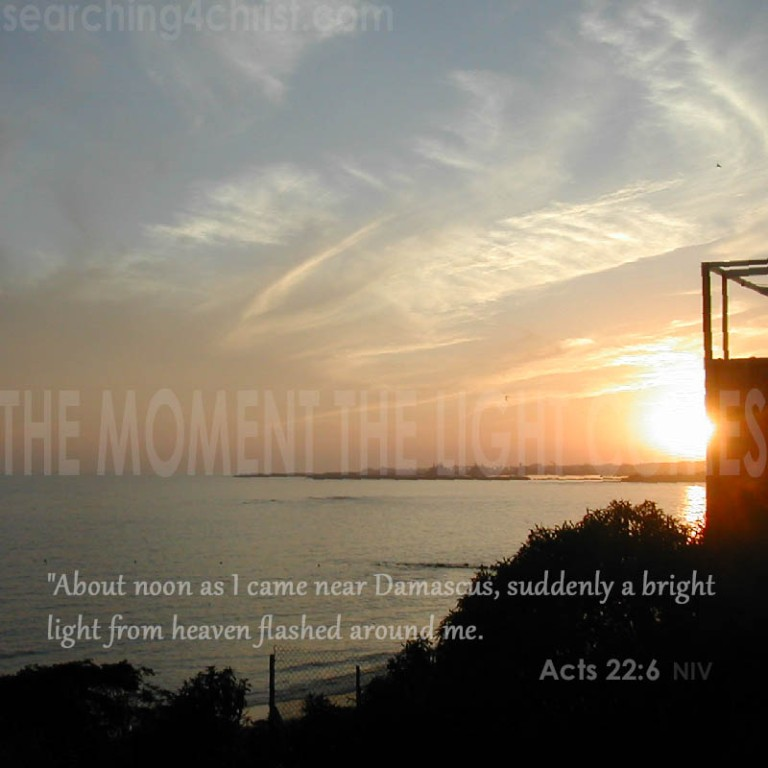 The Moment The Light Comes