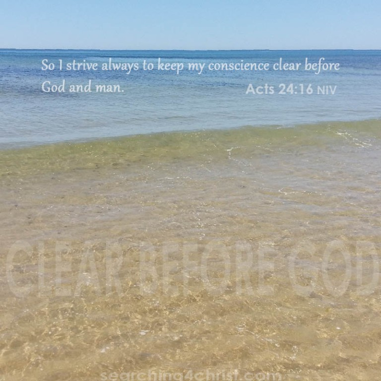 Clear Before God