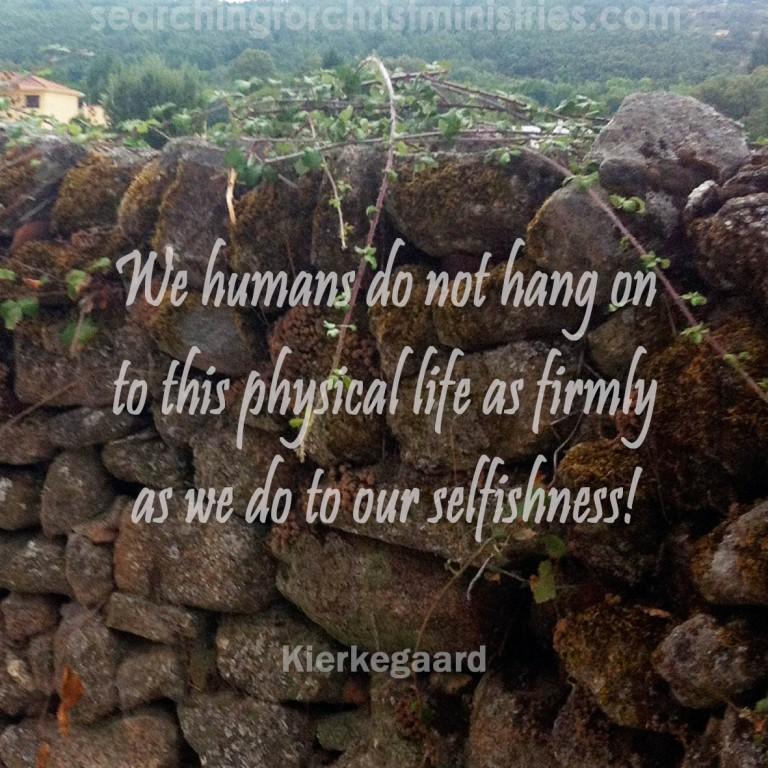 Humans Hang On To Selfishness