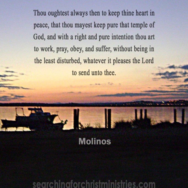 Keep Thine Heart In Peace