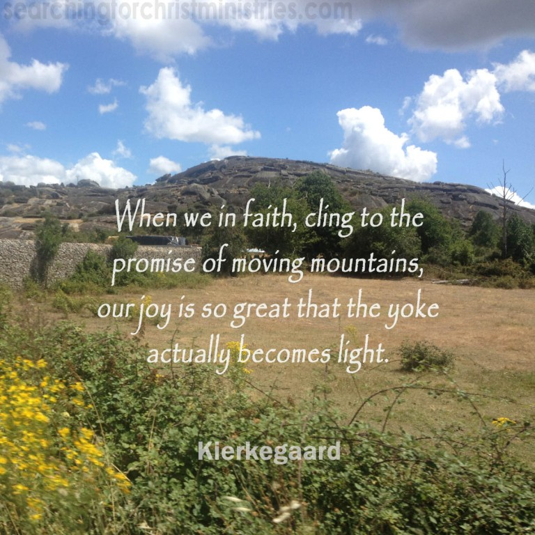 When We Cling In Faith
