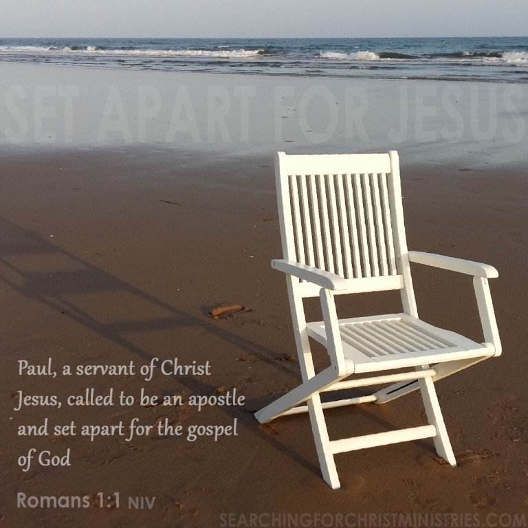 Set Apart For Jesus