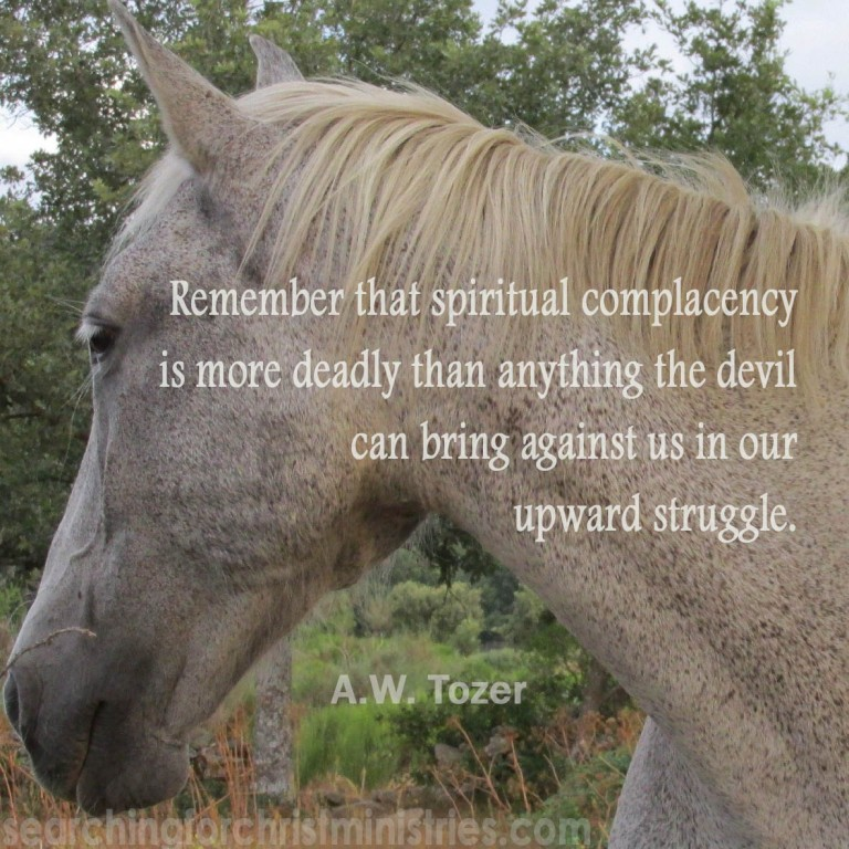 Remember Spiritual Complacency