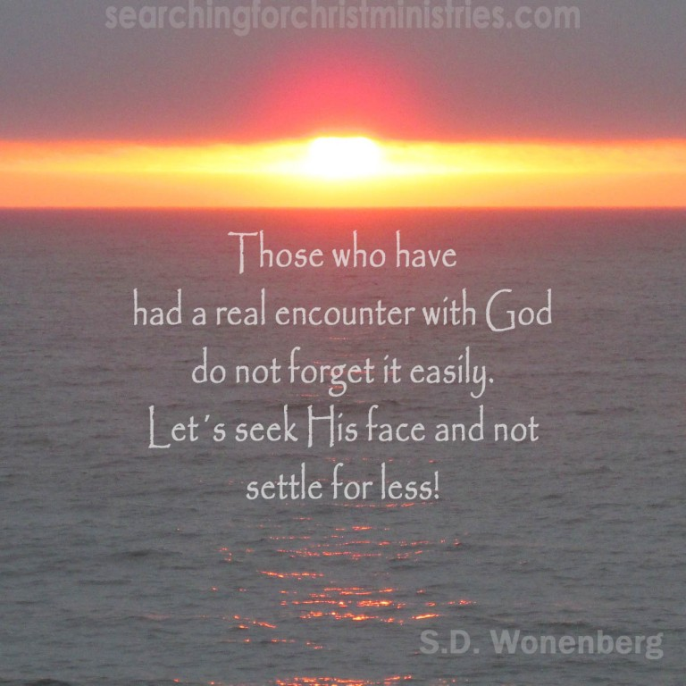 Those Who Encounter God
