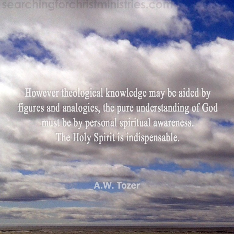 Theological Knowledge Or Spiritual Awareness