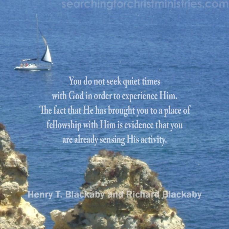 Seek Quiet Times