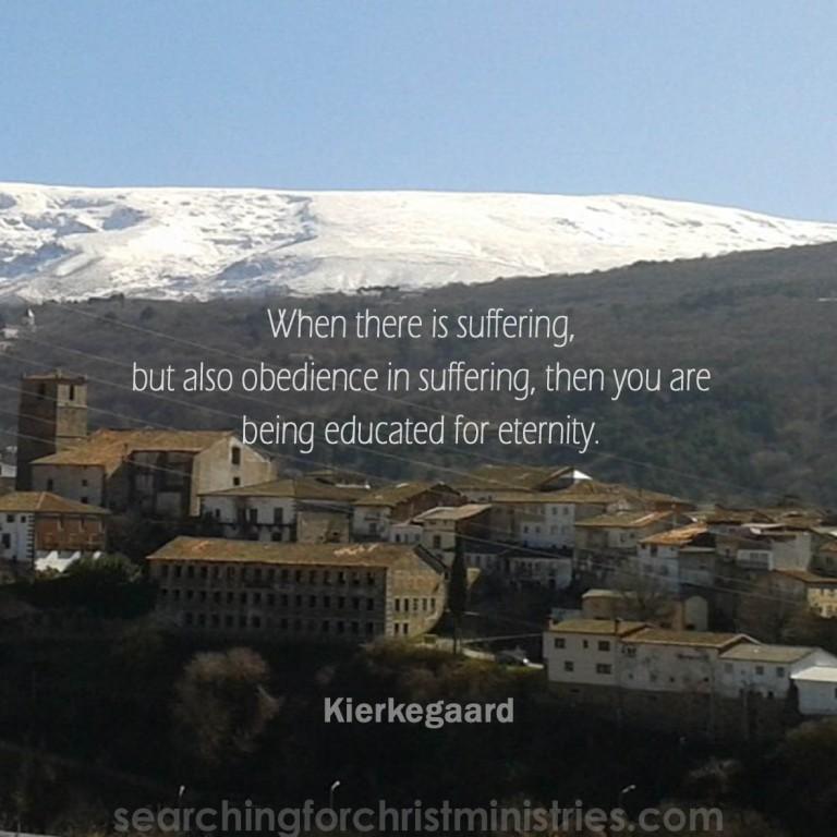 When Suffering Educates