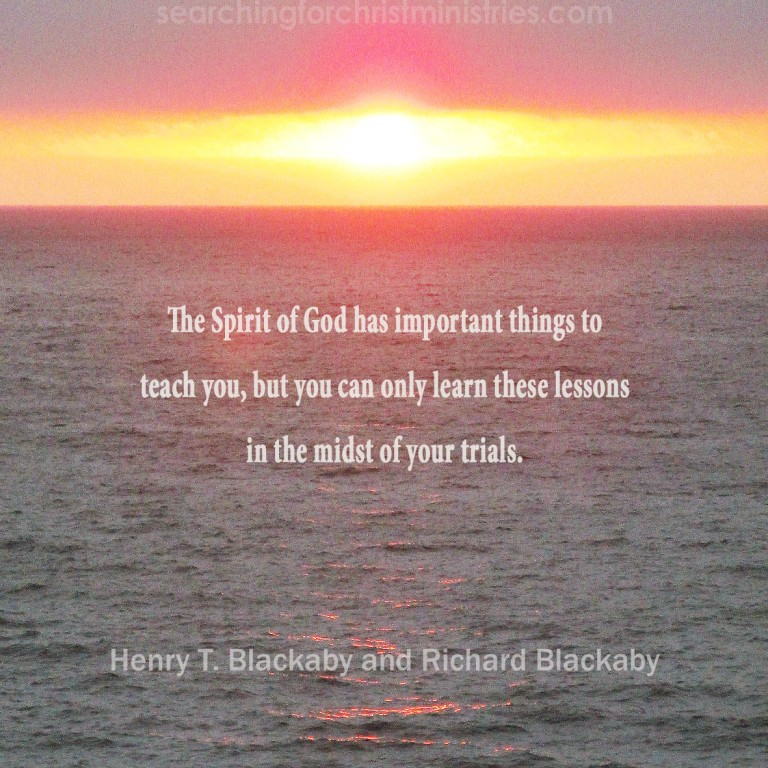 The Spirit Has To Teach