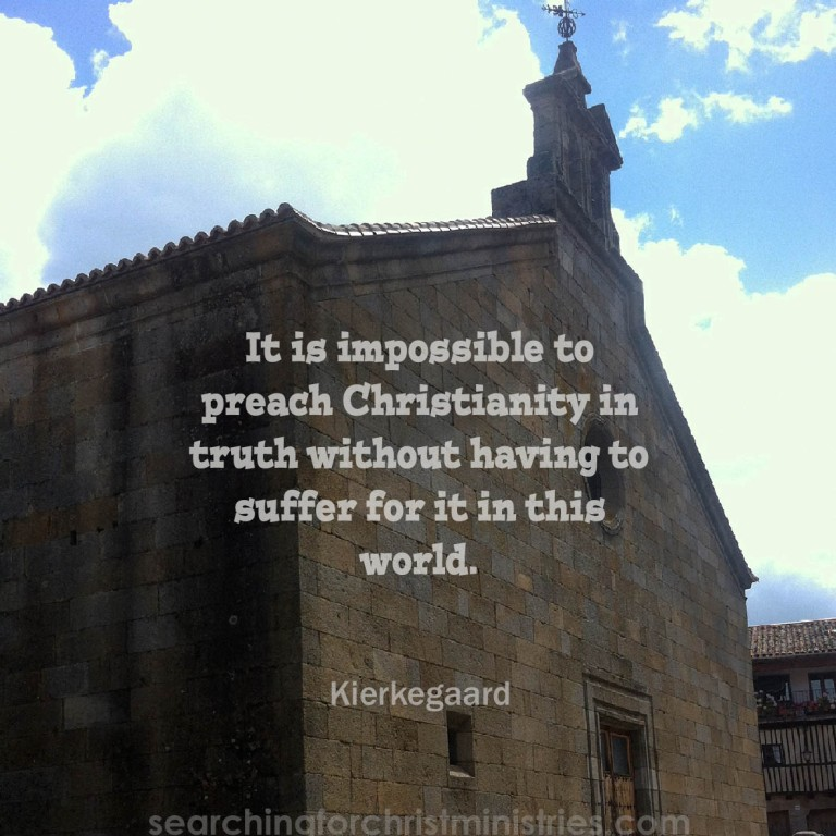 Preach Christianity And Suffer