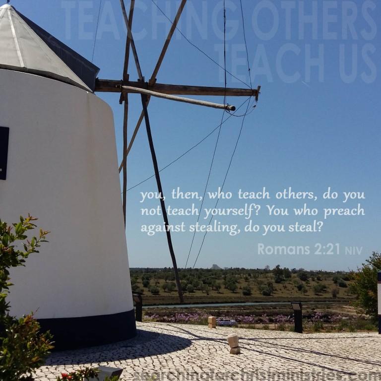 Teaching Others Teach Us