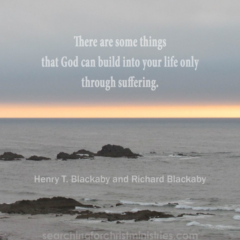 Some Things Built By Suffering
