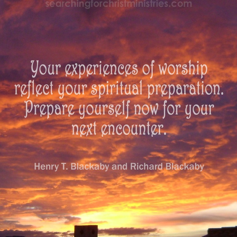 Experiences Reflect Preparation