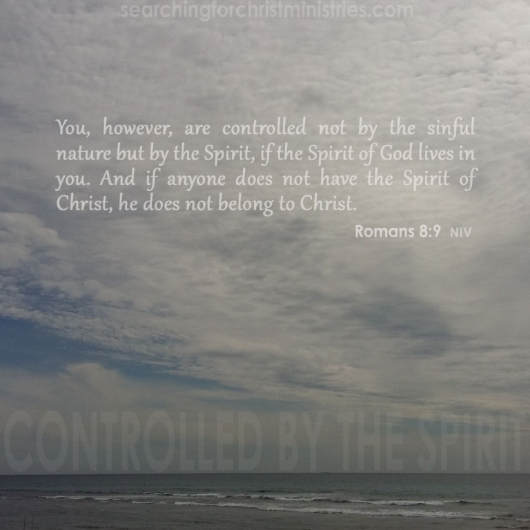Controlled By The Spirit