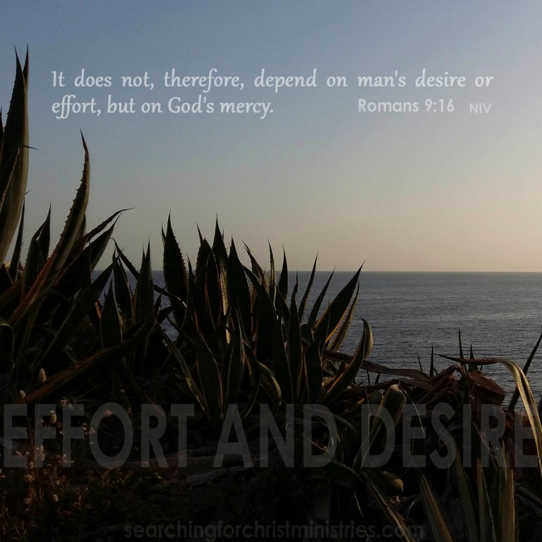 Effort And Desire