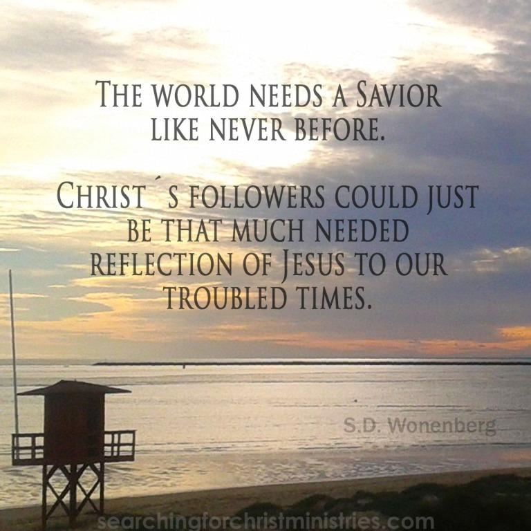 World Needs A Savior