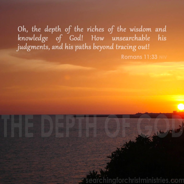 The Depth of God