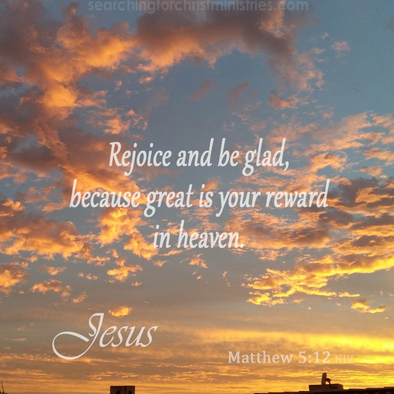 Matthew 5:12