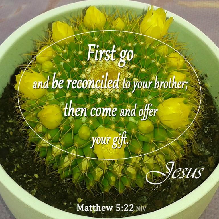 Matthew 5:24