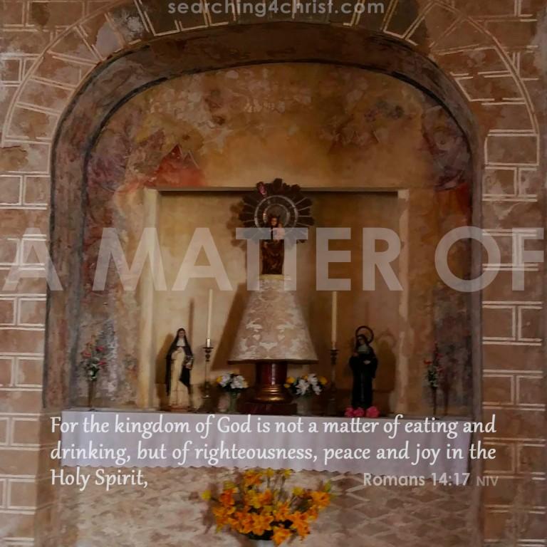 A Matter Of
