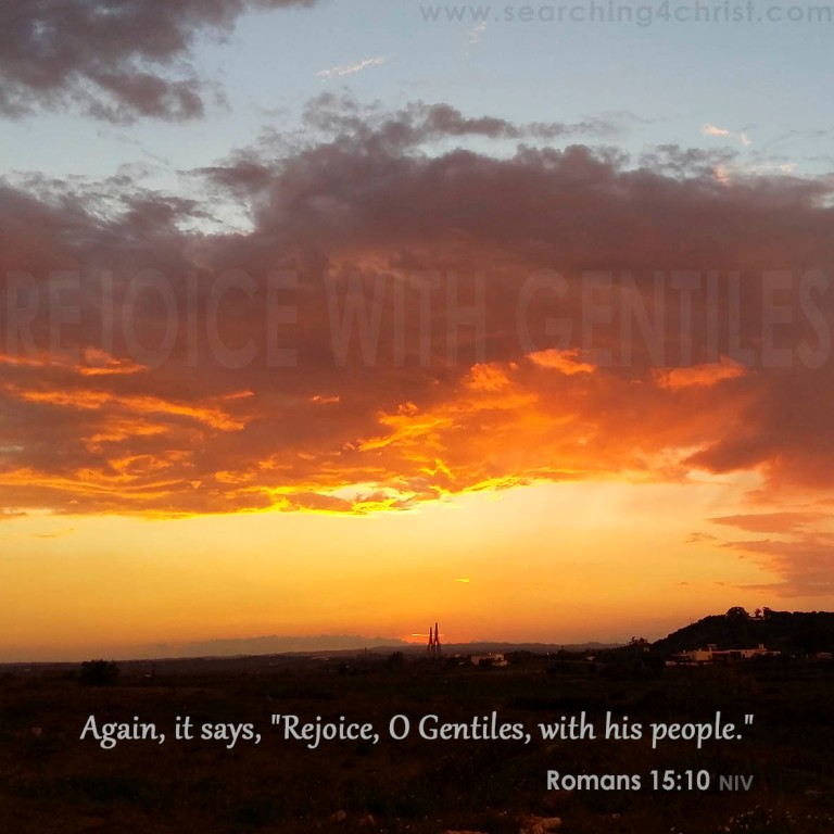 Rejoice With Gentiles