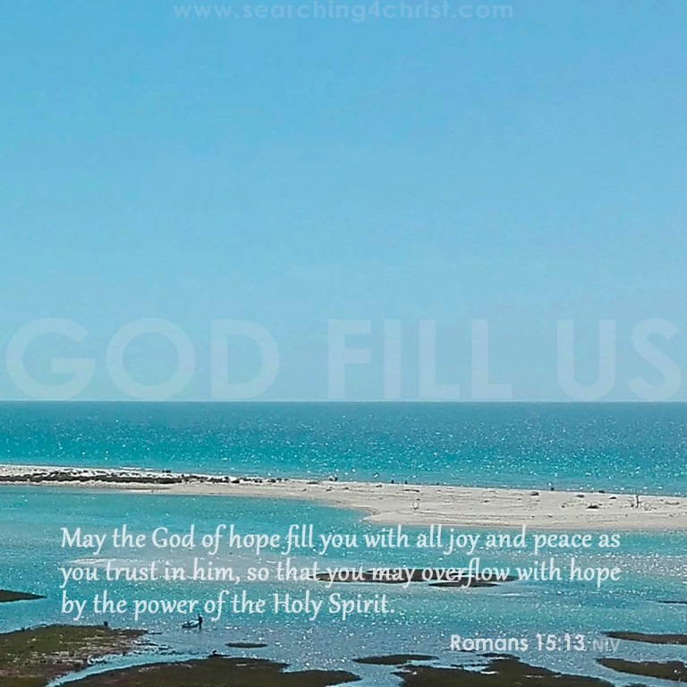 God Fill Us