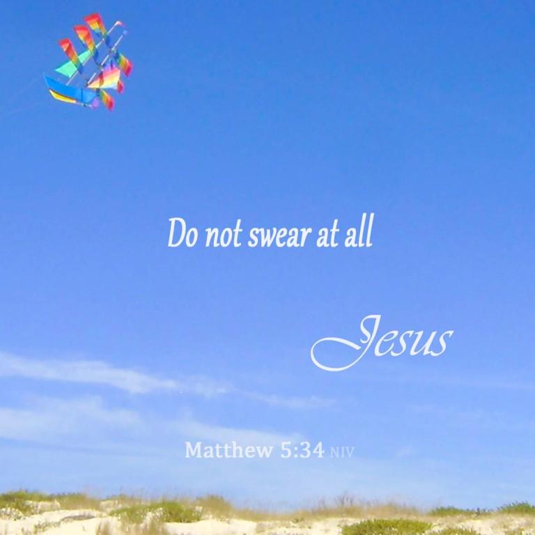 Matthew 5:34