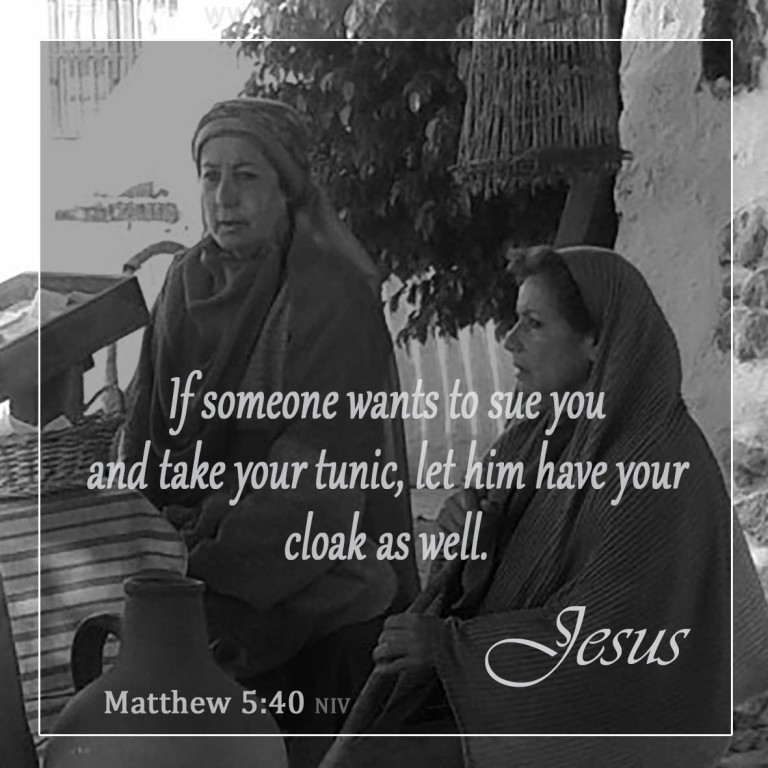Matthew 5:40