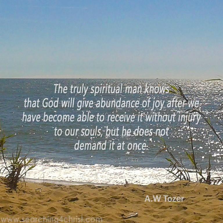 The Truly Spiritual