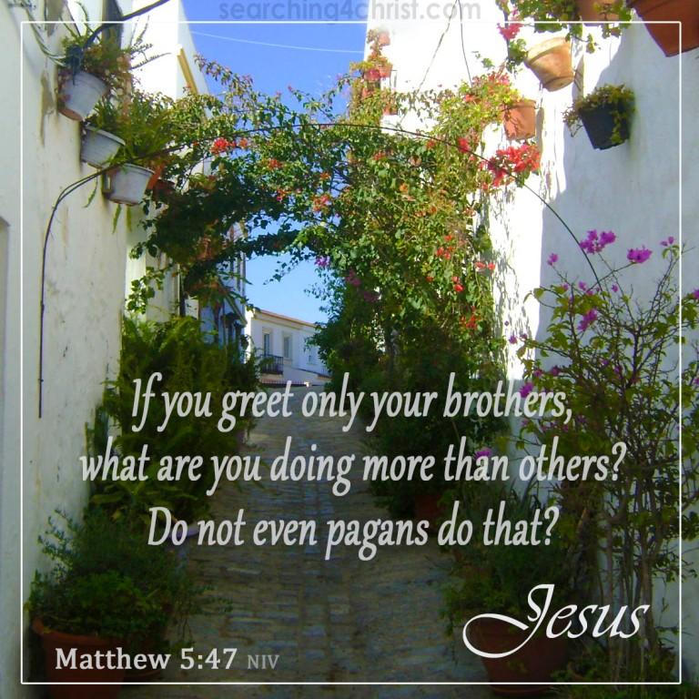 Matthew 5:47